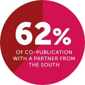 62 % copublication